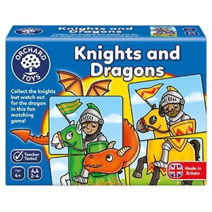 Picture of Joc educativ - puzzle Cavaleri si Dragoni KNIGHTS AND DRAGONS
