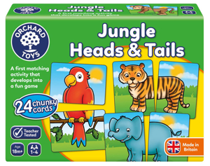 Picture of Joc educativ Jungla JUNGLE HEADS & TAILS