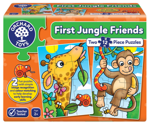 Picture of Puzzle Primii Prieteni din Jungla FIRST JUNGLE FRIENDS