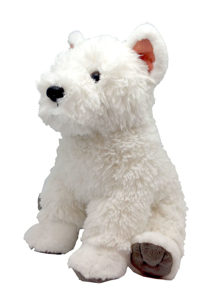 Picture of Catel Westie - West Highland White Terrier - Jucarie Plus Wild Republic 30 cm