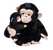 Imaginea Mama si Puiul - Cimpanzeu
